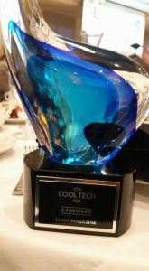 C-Forward Cool Tech Award Trophy