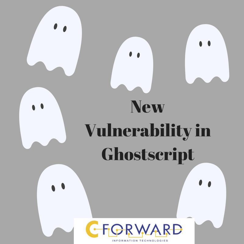 New Vulnerability in Ghostscript |